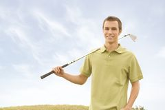 Golfers Royalty Free Stock Photo