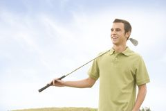 Golfers Royalty Free Stock Images