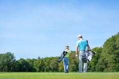 Golfers Royalty Free Stock Photo
