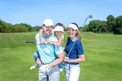 Golfers Royalty Free Stock Photos