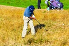 Golfers Royal Cinque Ports Golf Club Sandwich Bay UK