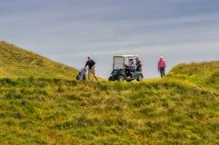Golfers Stock Photography