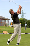 Golfeur Photographie stock