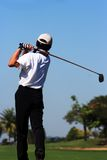 Golfeur Images stock