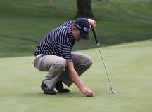 Golfeur américain Jason Bohn Images libres de droits
