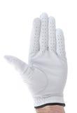 Golfeur donnant le geste ou l'ondulation d'arrêt Photo stock