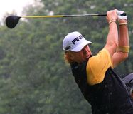 Golfeur espagnol Miguel Angel Jimenez Image libre de droits