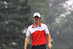 Golfeur irlandais Rory McIlroy Images libres de droits