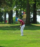 Golfeur Marcel Siem image libre de droits