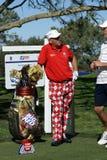 Golfeur professionnel de John Daly Photos libres de droits