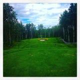 Golffarled Royaltyfri Bild