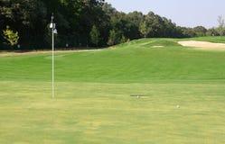Golffeld stockfoto