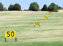 Golffeld stockfotos