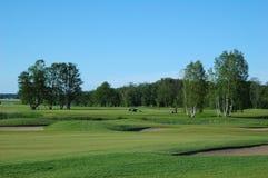 Golffeld Lizenzfreie Stockbilder