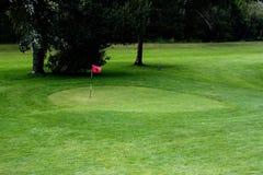 Golffeld. Stockfoto