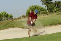 Golffoto Stockfoto