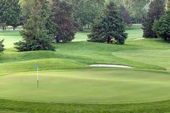 Golfgräsplan Royaltyfria Foton