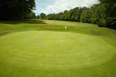 golfgreen Royaltyfria Foton