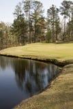 golfgreen Royaltyfri Bild