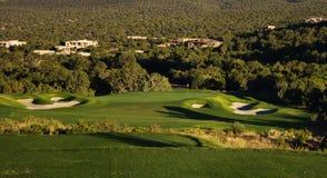 golfgreen Fotografering för Bildbyråer
