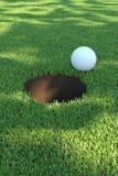 golfgreen01 Στοκ εικόνα με δικαίωμα ελεύθερης χρήσης