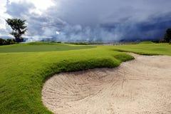 Golfgrün Lizenzfreie Stockfotografie