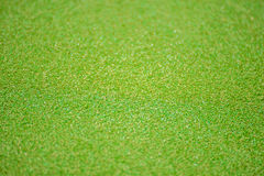 Golfgräsplan Arkivbilder