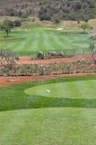 golfhål Royaltyfri Foto