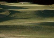 golfhål arkivbilder