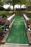 golfhålminiature Arkivbilder