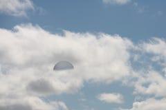 golfhimmel Arkivfoton