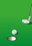 golfillustration Arkivbild