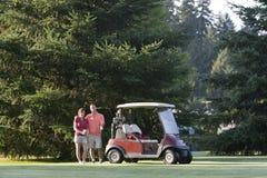golfing пар горизонтальный Стоковые Фото