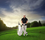 Golfing Foto de Stock Royalty Free