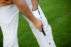 Golfing royalty free stock photos