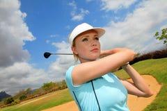 Golfing Стоковые Изображения