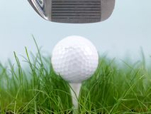 Golfing Royalty Free Stock Image