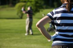 Golfing Stock Photos