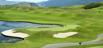 Golfing Immagini Stock