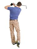 Golfing Royalty Free Stock Photography