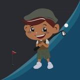 Golfing Imagens de Stock Royalty Free