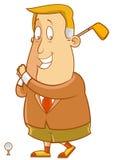 golfing vektor abbildung