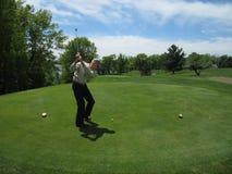 Golfing Στοκ Εικόνα