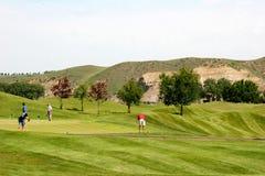 Golfing Royalty Free Stock Photography