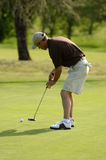 golfing lizenzfreie stockbilder