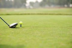 golfing stockbilder