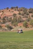 Golfing in Arizona Stock Photography