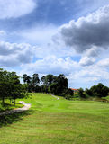 Golfing do fim de semana fotos de stock