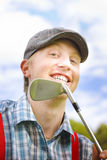 Golfing Fairway Portrait Royalty Free Stock Images