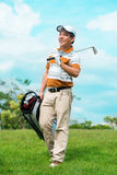 After golfing Royalty Free Stock Photo